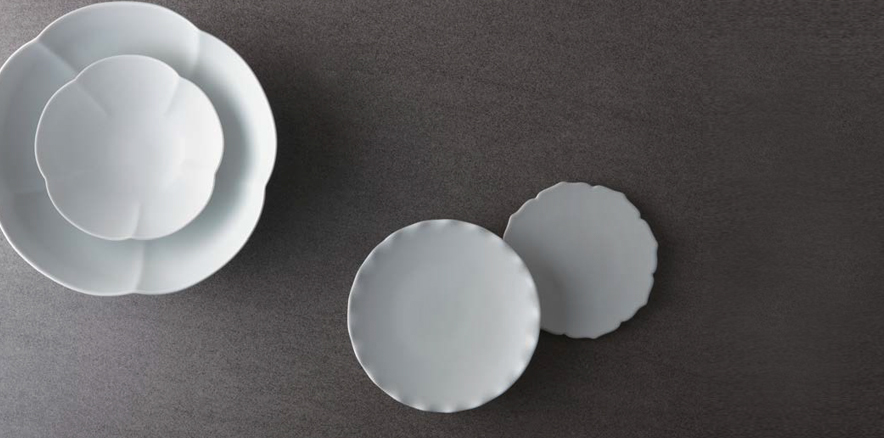 Modern White Porcelain Tableware Products